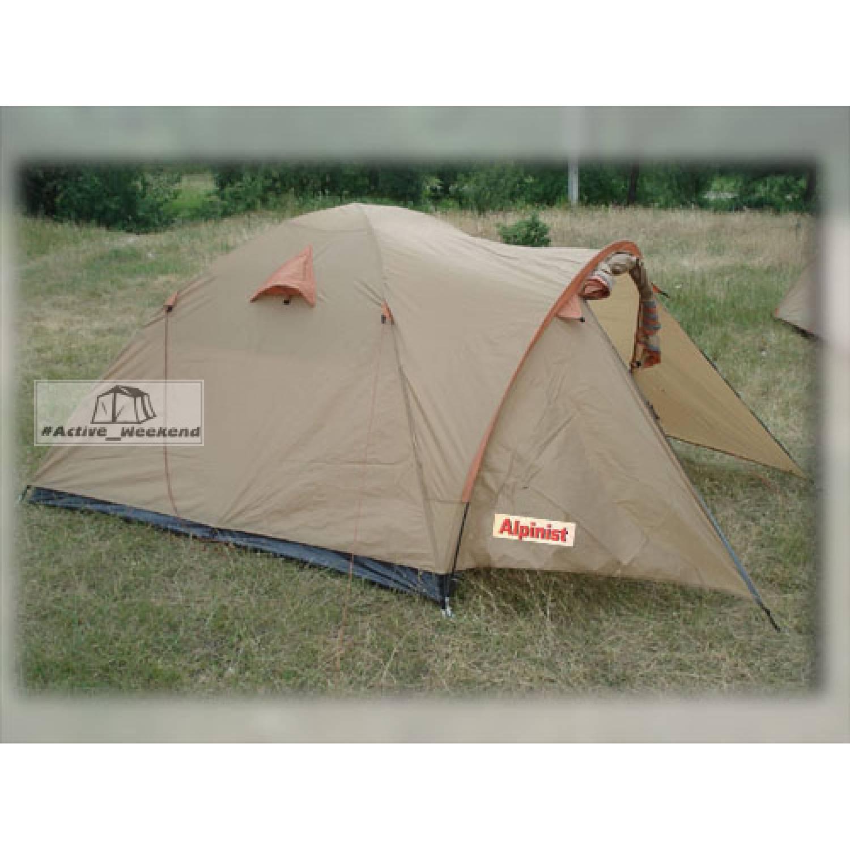Палатка 4-х местная Alpinist Sapyn