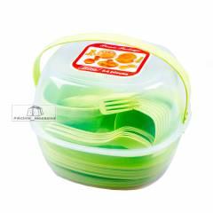 Набор пластиковой посуды на 6 персон Mimir CRT 139