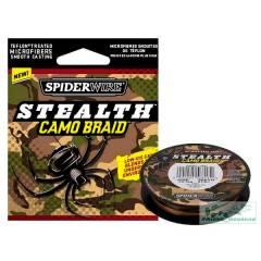 Плетённый шнур Spiderwire Stealth Camo Braid, 0,14 мм.