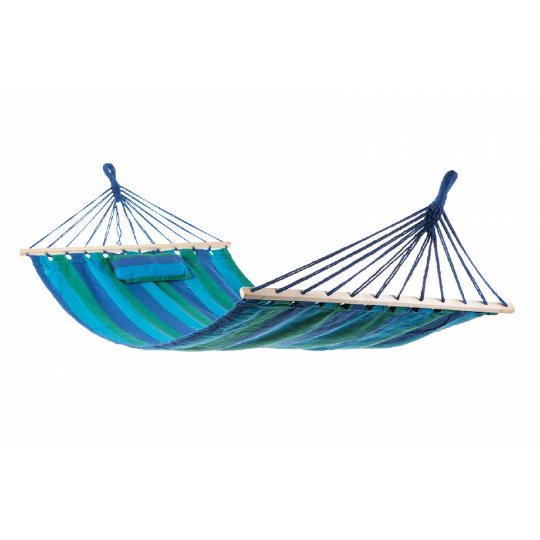 Гамак тканный с подушкой (200*100 см.)