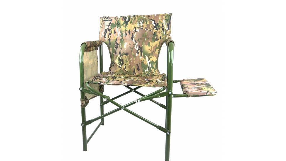 Раскладное кресло стул с полкой