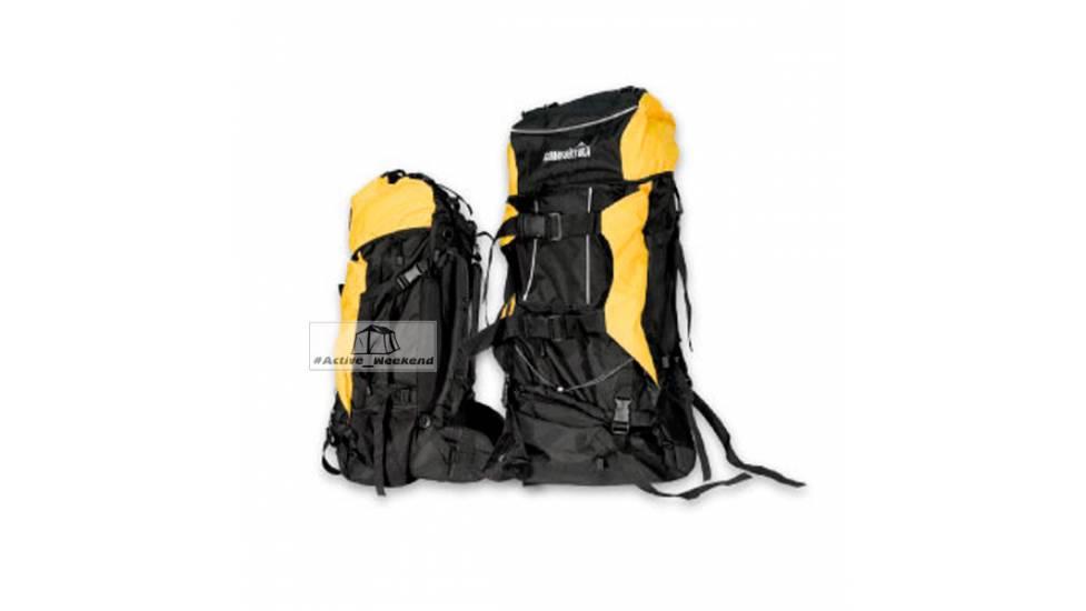 Рюкзак COMFORTIKA трекинг AK9202E-80л желтый