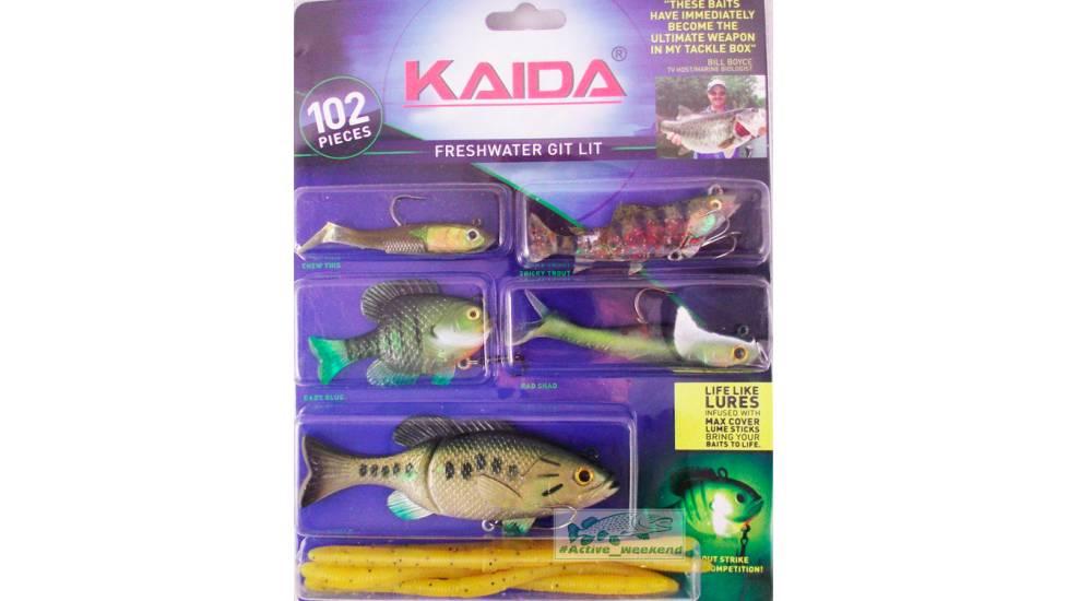Набор  приманок KAIDA для пресноводной воды