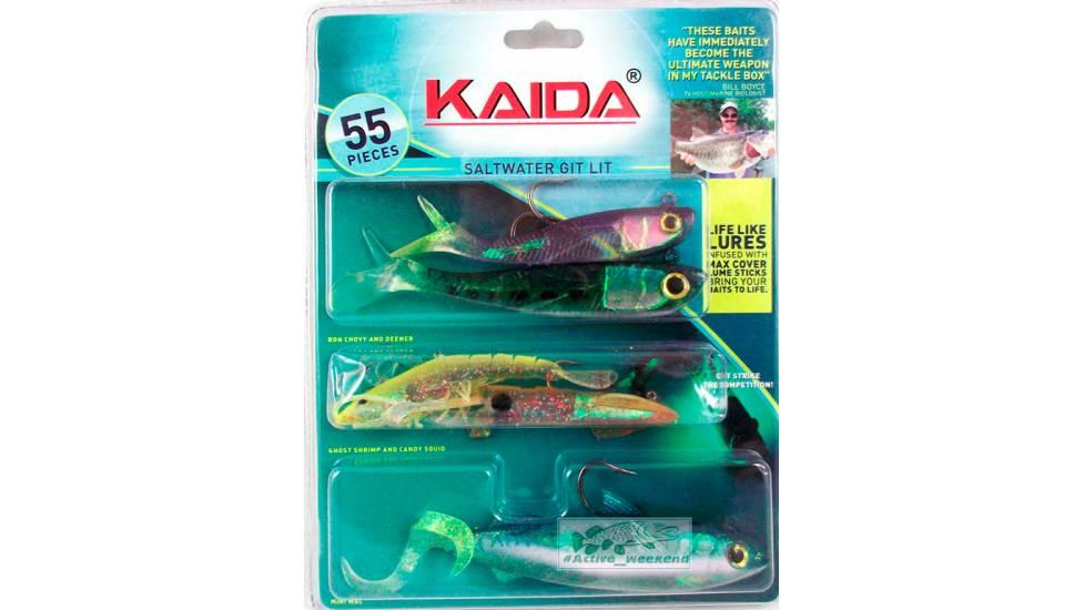 Набор  приманок KAIDA для морской рыбалки