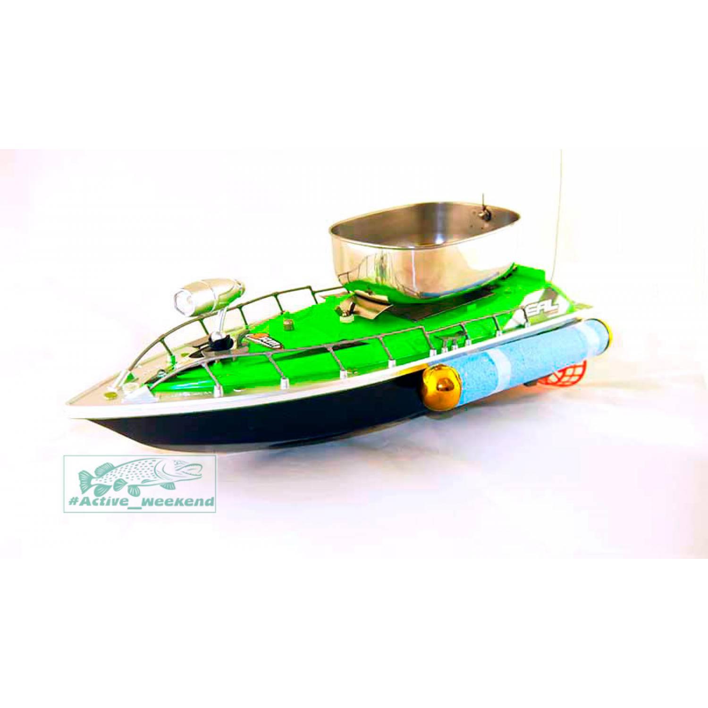 кораблик для завоза прикормки китай