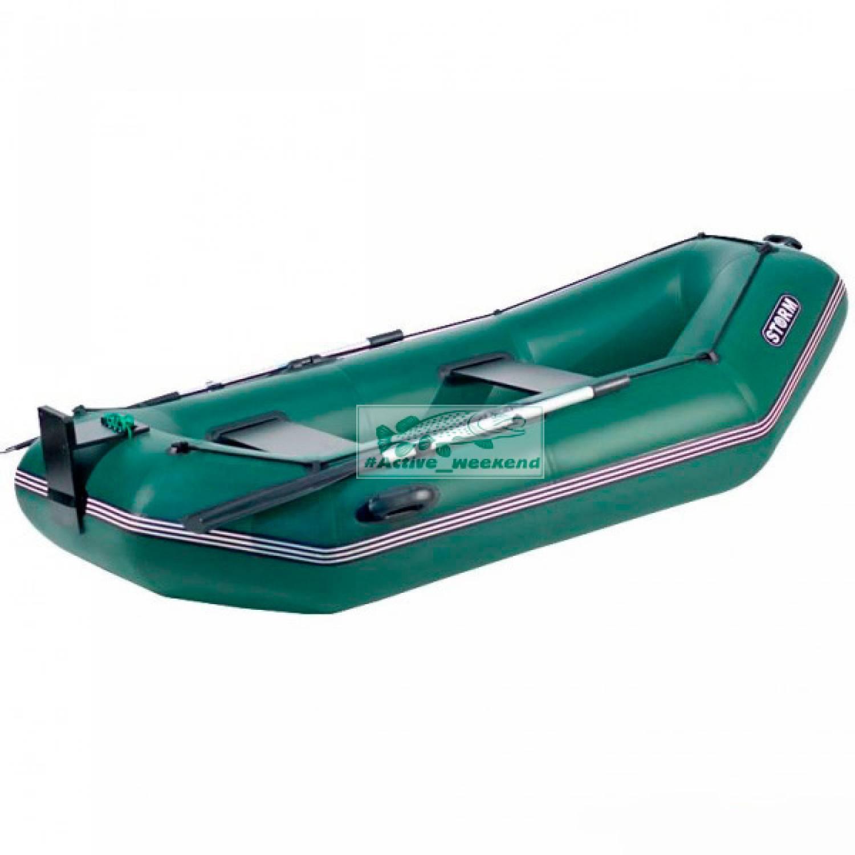 Двухместная гребная надувная лодка  STORM SS260