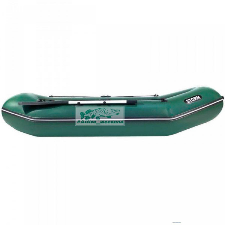 Двухместная гребная надувная лодка  STORM SS300R