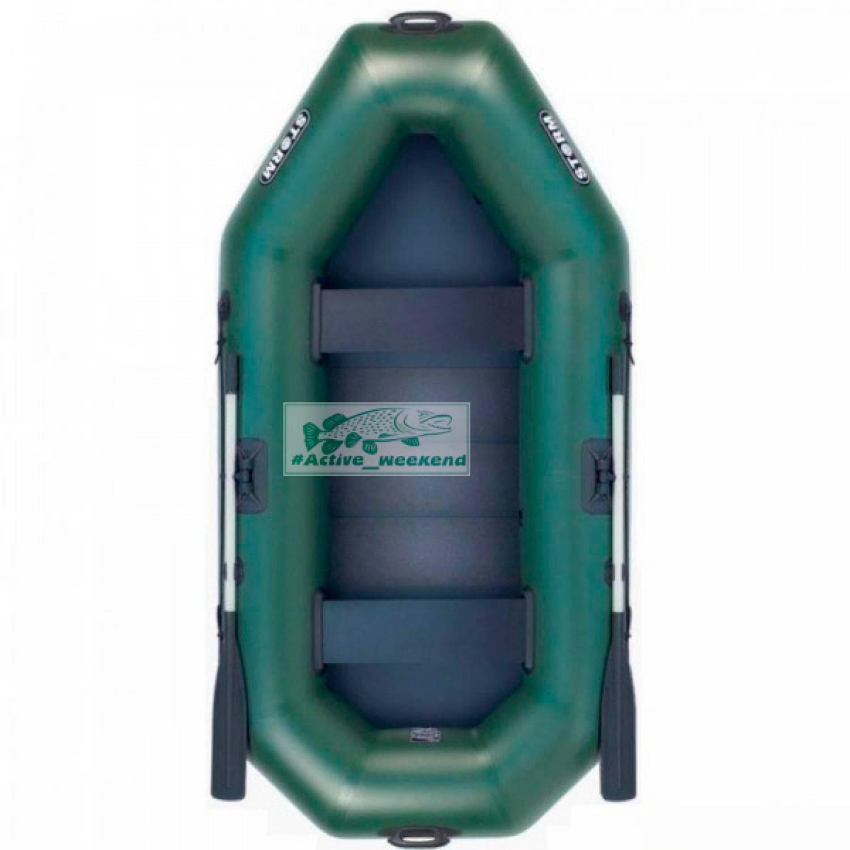 Двухместная гребная надувная лодка  STORM SS280