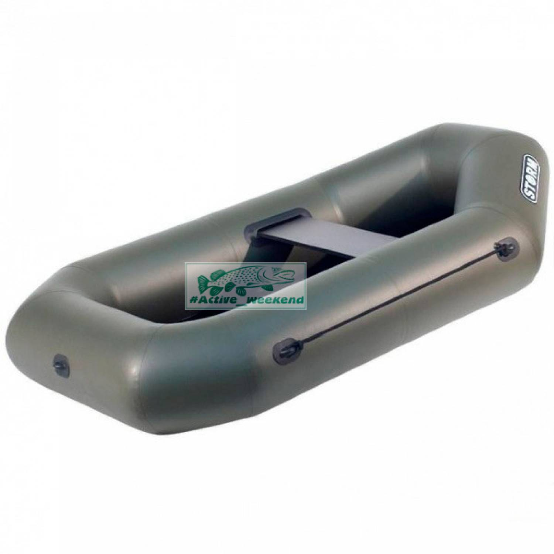 Одноместная гребная надувная лодка STORM - St190