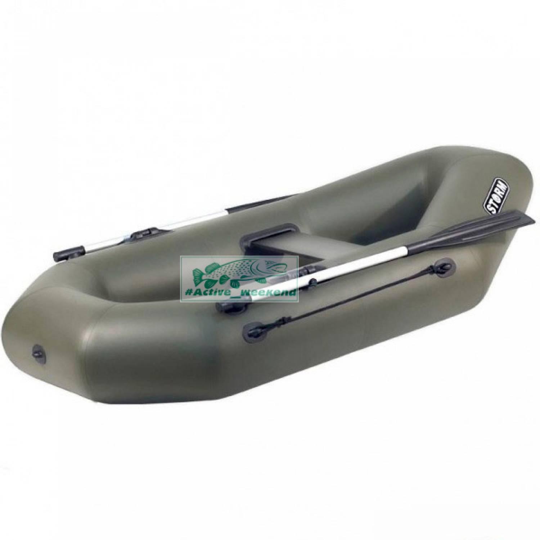 Одноместная гребная надувная лодка STORM St220c