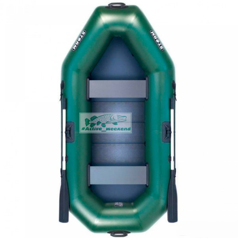 Двухместная Гребная надувная лодка  STORM St260