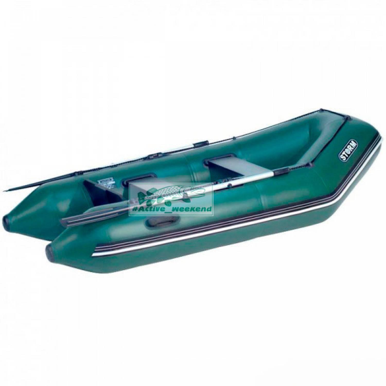 Моторная надувная лодка STORM Stm 260-40