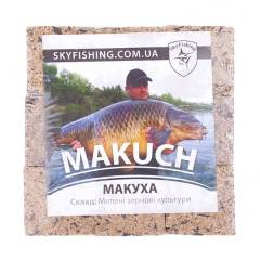 Макуха для ловли на реке, длительное растворение в  воде