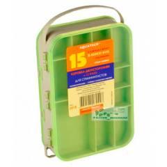 Коробка Aquatech 2-х сторонняя 15 ячеек