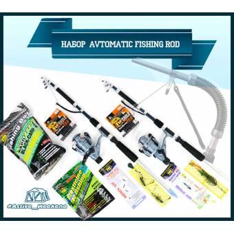 Набор спиннинг самозасекающий  Avtomatic Fishing Rod