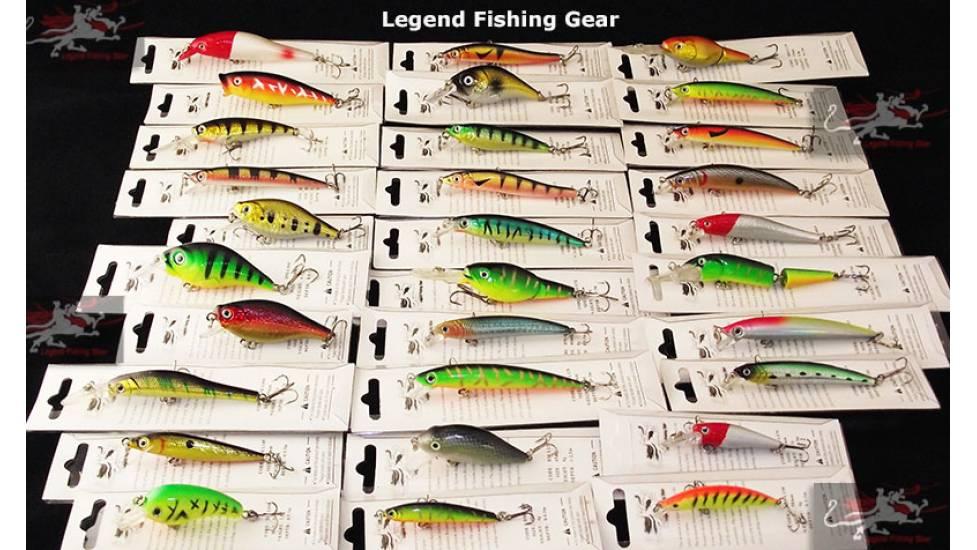 Набор воблеров  Legend Fishing Gear 30 шт.
