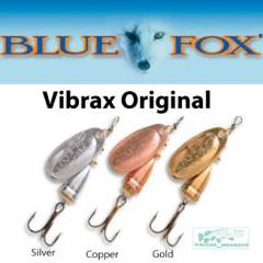Набор блесна  Blue Fox Original Vibrax №3 три цвета.