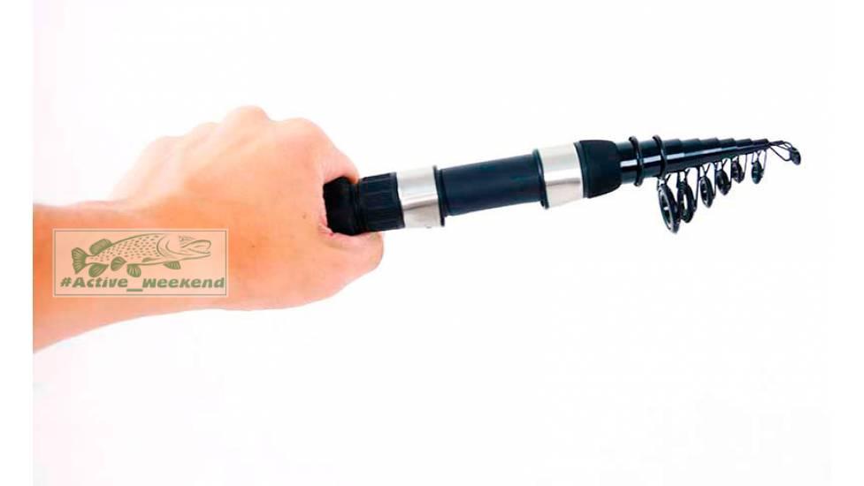 Компактный спиннинг Kalipso 1.8 м. - 32 см в чехле ,9 секций