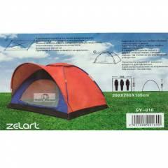 Палатка Shengyuan SY-010 3-х местная  с тамбуром