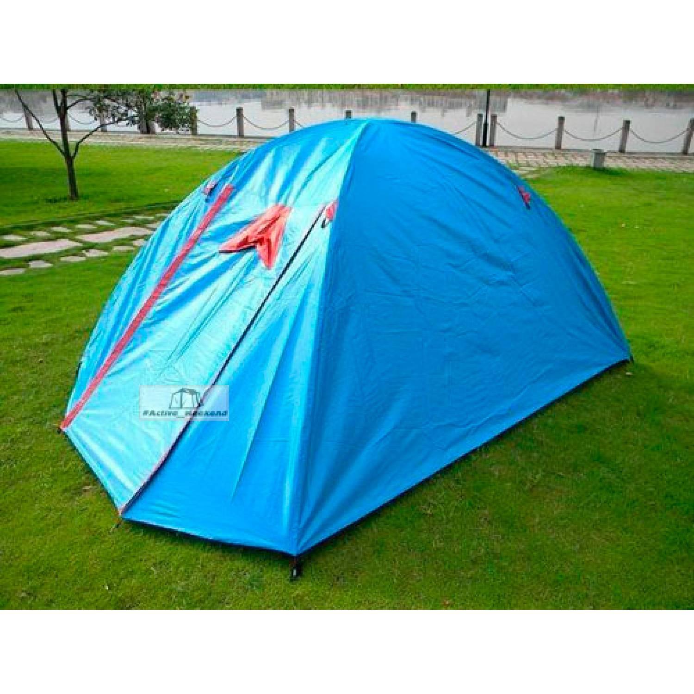 Палатка Shengyuan SY-017 6-и местная с тентом