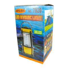 Фонарь кемпинговый светодиодный 7820 (20 ламп, на бат. (3 AA)