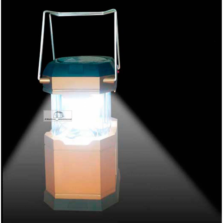 Кемпинговый фонарь с солнечной зарядкой и USB Power Bank  CL-901