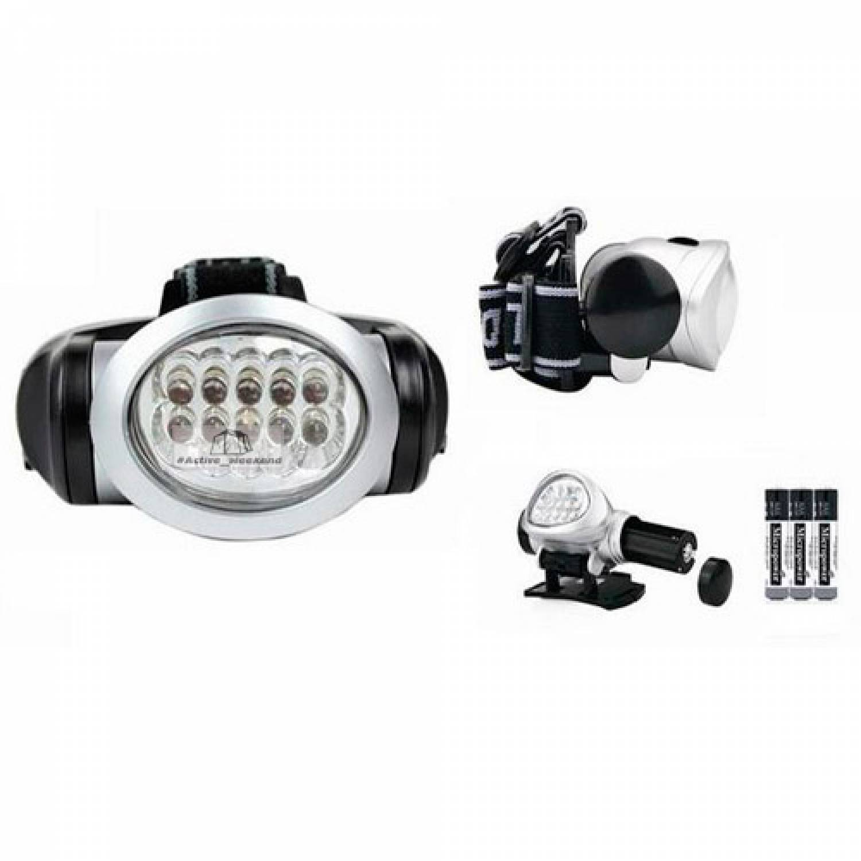Налобный фонарь-BL-603  12 светодиодов