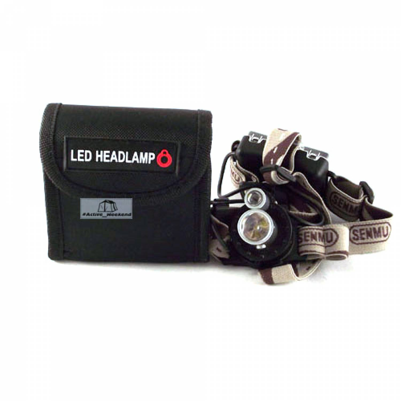 Police SM-6652 налобный фонарь 2 диода