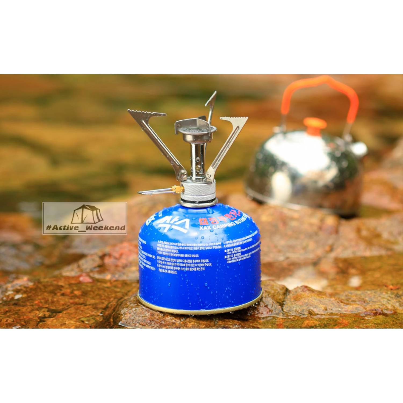 Горелка газовая складная в пластиковом футляре BRS-1