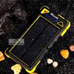 Водонепроницаемый Solar Power Bank 12.000 мАч с солнечной панелью