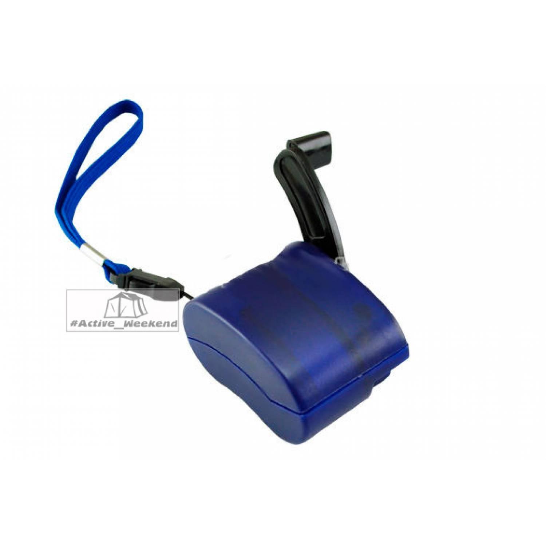 Ручная динамо зарядка для мобильных телефонов