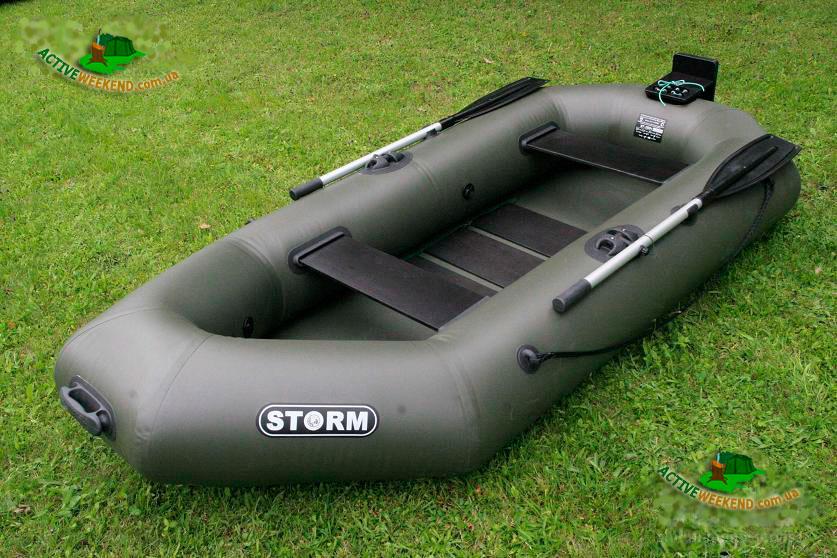 Гребная надувная лодка Шторм St280t